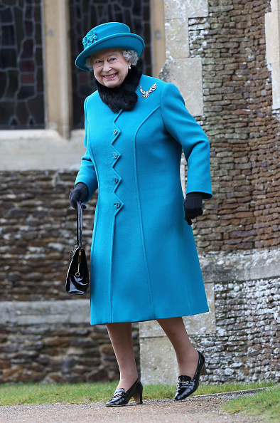 King's Lynn「The Royal Family Attend Christmas Day Service At Sandringham」:写真・画像(8)[壁紙.com]