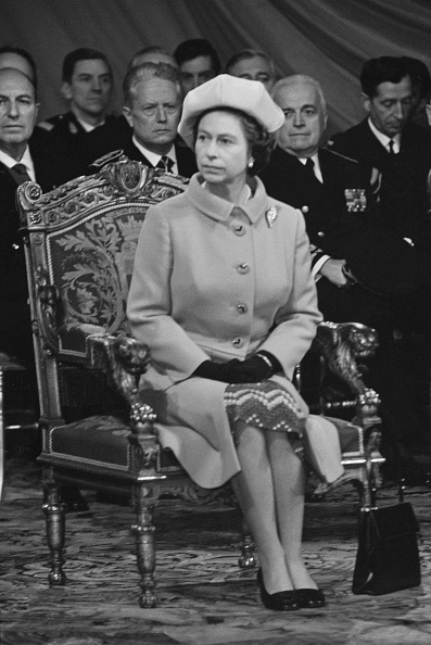 1972「Queen Elizabeth II In France」:写真・画像(8)[壁紙.com]