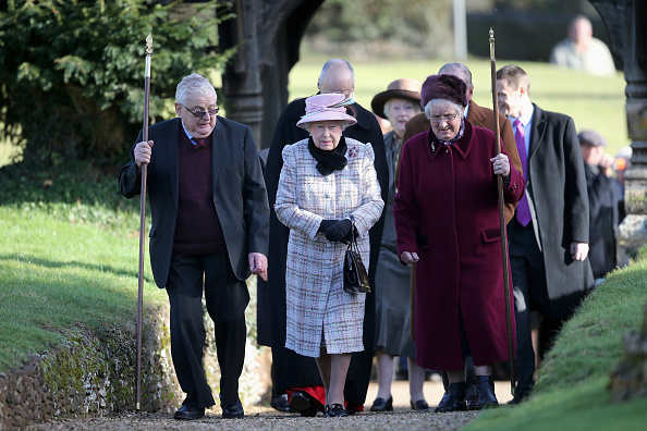 King's Lynn「Queen Elizabeth II Attends Church In Norfolk」:写真・画像(1)[壁紙.com]
