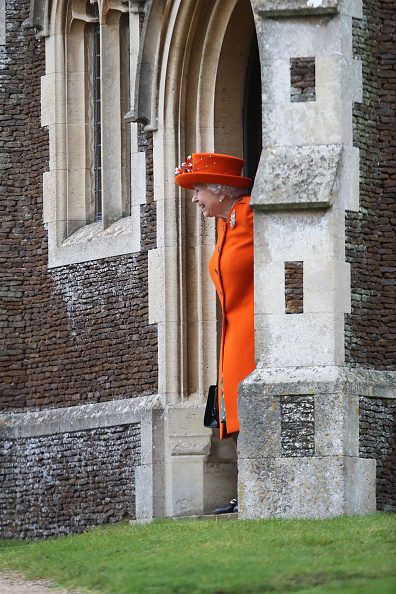 King's Lynn「Members Of The Royal Family Attend St Mary Magdalene Church In Sandringham」:写真・画像(14)[壁紙.com]
