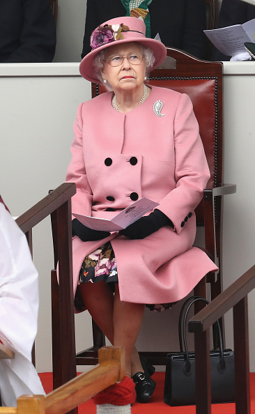 Event「Queen Elizabeth II Attends Decommissioning Ceremony For HMS Ocean In Plymouth」:写真・画像(7)[壁紙.com]