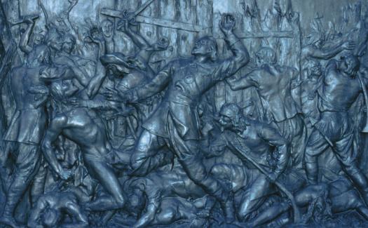 Battle「Engraved relief sculpture of war」:スマホ壁紙(9)