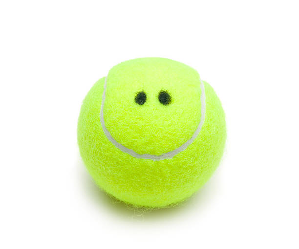 笑顔テニスボール:スマホ壁紙(壁紙.com)
