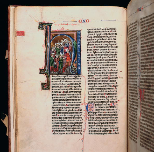 Bible「Latin bibel in the monastery library Admont」:写真・画像(18)[壁紙.com]