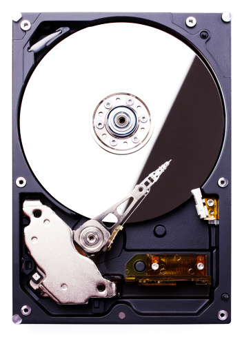 Hard Drive「Hard disk drive (clipping path), isolated on white background」:スマホ壁紙(18)