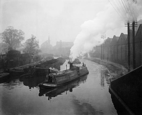 Barge「Grand Union Canal」:写真・画像(5)[壁紙.com]
