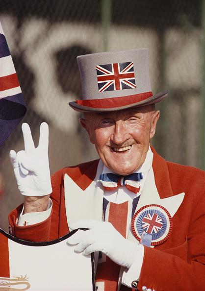 Sport「Ken Baily England Fan and Enthusiast circa 1986」:写真・画像(6)[壁紙.com]