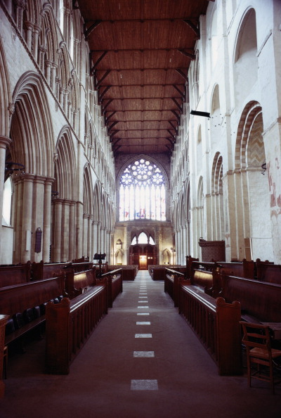 Architectural Feature「St Albans Nave」:写真・画像(3)[壁紙.com]