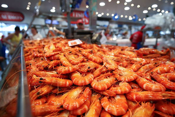 Prawn - Seafood「Sydneysiders Stock Up For Christmas At Sydney Fish Markets」:写真・画像(18)[壁紙.com]