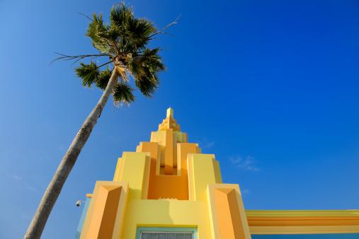 Miami Beach「カラフルなペイントされたアールデコ調の家にオーシャンドライブ、マイアミフロリダ州)」:スマホ壁紙(17)