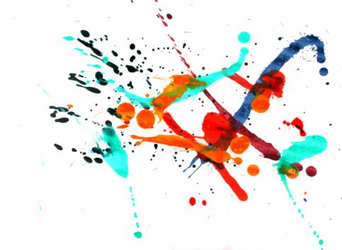 Rock Music「Colorful paint splash」:スマホ壁紙(12)