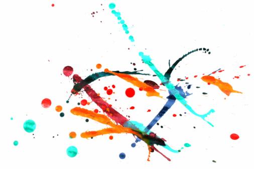 Rock Music「Colorful paint splash」:スマホ壁紙(19)