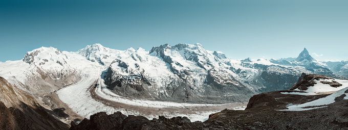 Pennine Alps「Gornergrat Panorama」:スマホ壁紙(2)