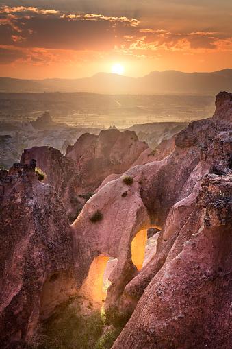 Fairy Tale「Cappadocia at Beautiful Sunset, Goreme, Turkey」:スマホ壁紙(9)