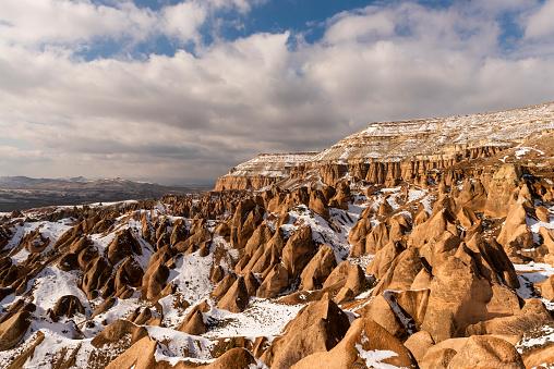 Cliff Dwelling「Cappadocia at winter」:スマホ壁紙(16)