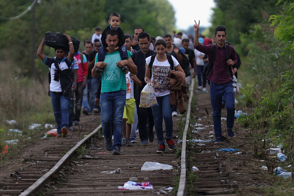 ドイツ「Austria Opens The Border To Thousands Of Migrants」:写真・画像(19)[壁紙.com]