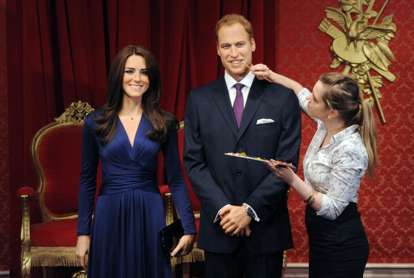 Madame Tussauds London「Madame Tussauds London Introduces The Duke And Duchess Of Cambridge To The Royal Line Up」:写真・画像(7)[壁紙.com]