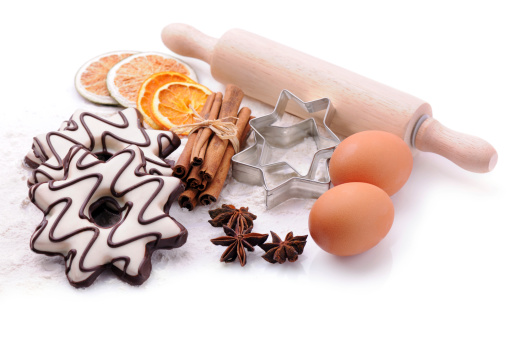 Star Anise「Baking ingredients with copy space」:スマホ壁紙(15)