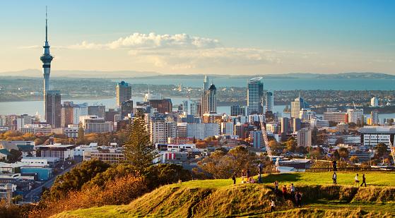 Kiwi「Auckland Skyline」:スマホ壁紙(10)