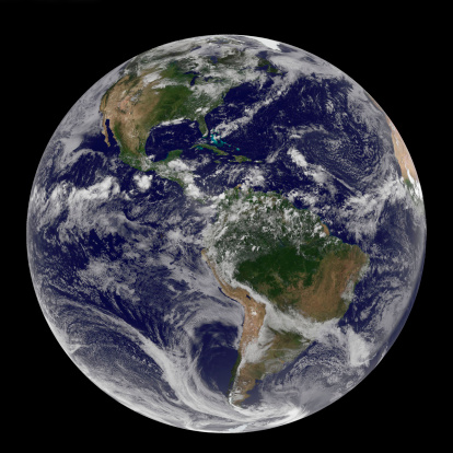 Solar System「Full Earth showing North and South America on July 14, 2010.」:スマホ壁紙(14)