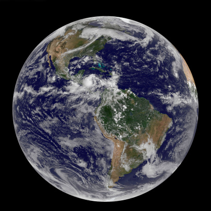 Solar System「Full Earth showing North and South America on September 24, 2010.」:スマホ壁紙(19)