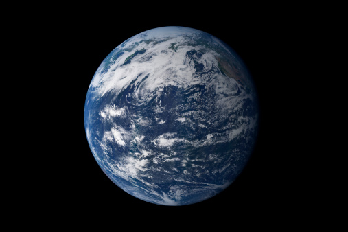 Planet Earth「Full Earth centered over the Pacific Ocean.」:スマホ壁紙(5)