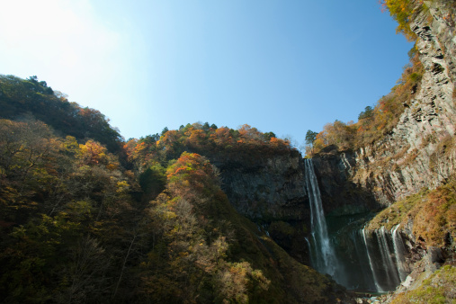 Nikko City「Kegon Waterfalls」:スマホ壁紙(7)