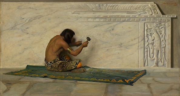 Animal Body Part「An Aztec Sculptor」:写真・画像(17)[壁紙.com]