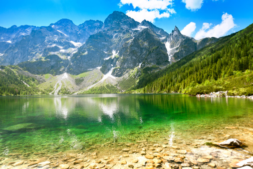 Eco Tourism「'Morskie Oko' Lake in Tatra Mountains」:スマホ壁紙(2)