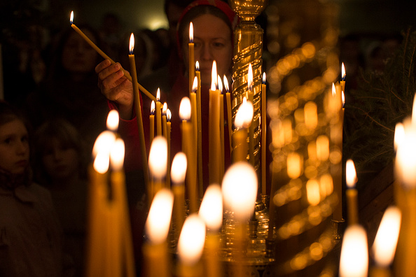 Religious Mass「Christmas is Celebrated By Russian Orthodox Christians In London」:写真・画像(19)[壁紙.com]