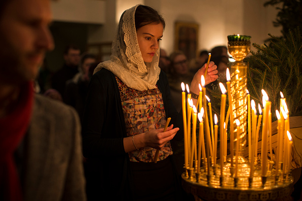 Religious Mass「Christmas is Celebrated By Russian Orthodox Christians In London」:写真・画像(1)[壁紙.com]