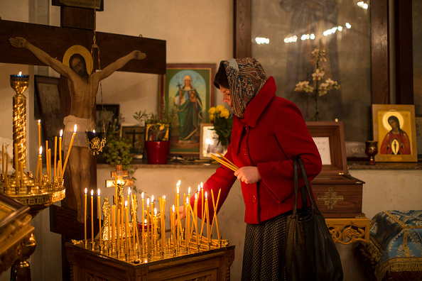 Religious Mass「Christmas is Celebrated By Russian Orthodox Christians In London」:写真・画像(2)[壁紙.com]