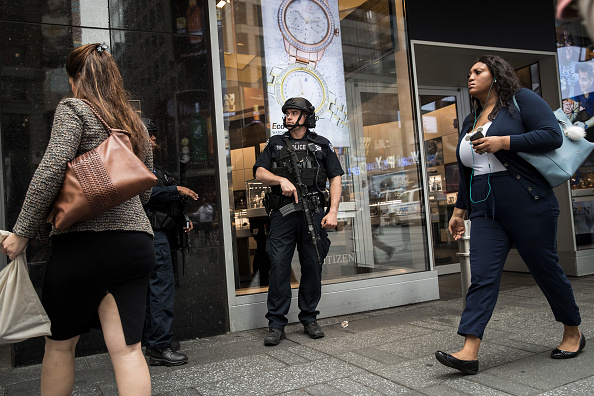 アメリカ合州国「Security Heightened At NYC Tourist Areas After Terror Attacks In London」:写真・画像(19)[壁紙.com]