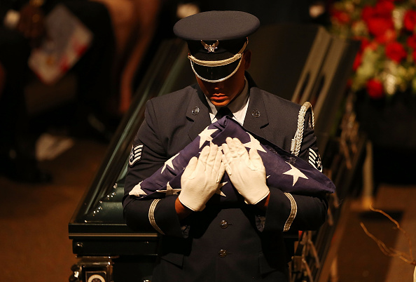 Air Force「Funeral Held For Tuskegee Airman In Miami」:写真・画像(2)[壁紙.com]