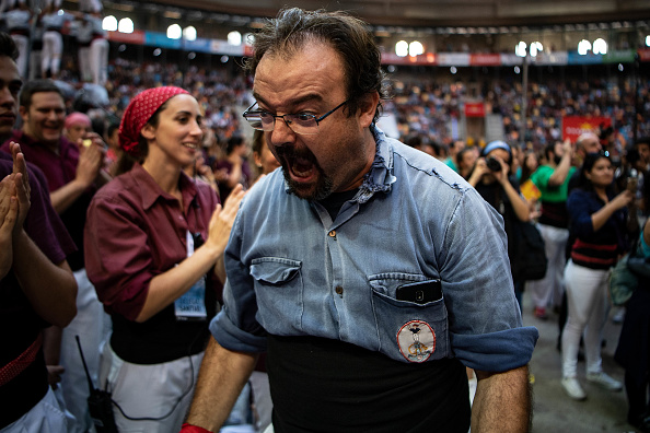 David Ramos「Human Towers Are Built In The Tarragona Castells Competition」:写真・画像(14)[壁紙.com]