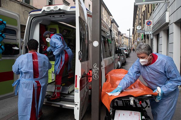 Emanuele Cremaschi「Bergamo's Covid-19 Bungle: Re-Visiting Red Cross One Year On」:写真・画像(8)[壁紙.com]