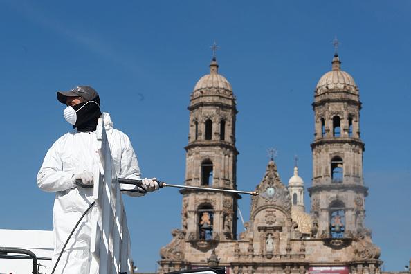 Mexico City「Coronavirus Outbreak In Mexico」:写真・画像(10)[壁紙.com]
