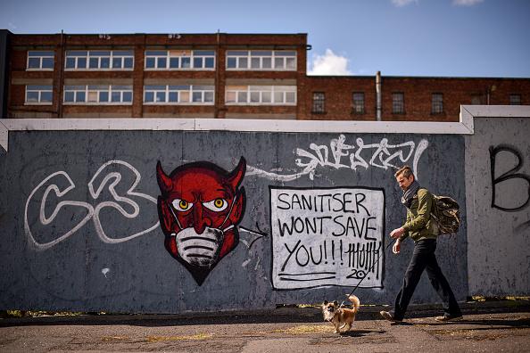 Graffiti「UK In Sixth Week Of Coronavirus Lockdown」:写真・画像(5)[壁紙.com]