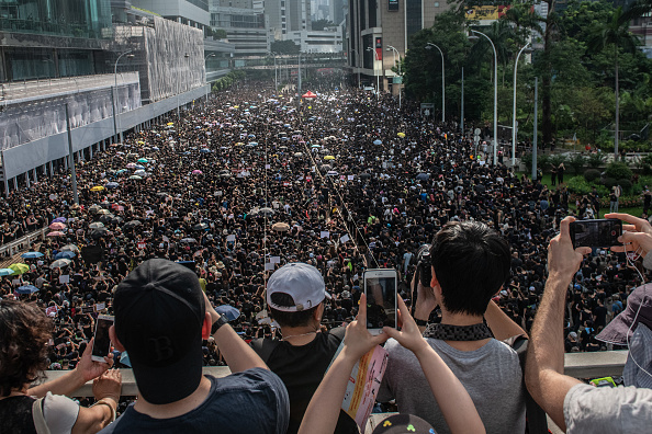 Protestor「Hong Kongers Protest Over China Extradition Law」:写真・画像(17)[壁紙.com]