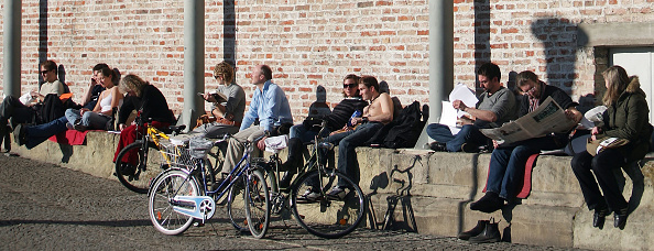 Heat - Temperature「Germany Enjoys Unusually High Temperatures For February」:写真・画像(6)[壁紙.com]