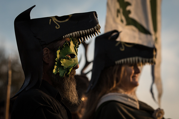 Hill「The Festival Of Samhain Is Celebrated In Glastonbury」:写真・画像(6)[壁紙.com]
