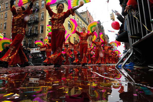 Cultures「Lunar New Year Parade Held In New York City's Chinatown」:写真・画像(7)[壁紙.com]
