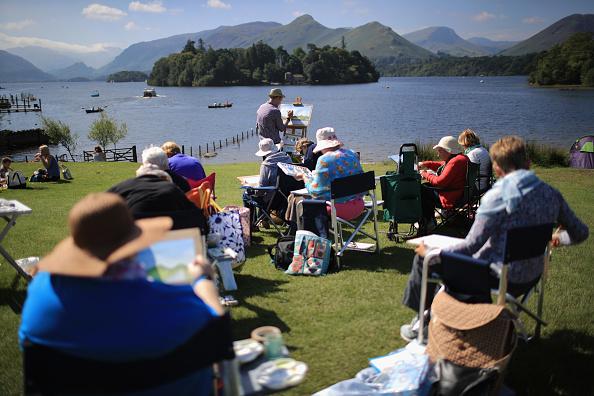 English Lake District「Tourism Picks Up In Former Flood Hit Areas」:写真・画像(7)[壁紙.com]