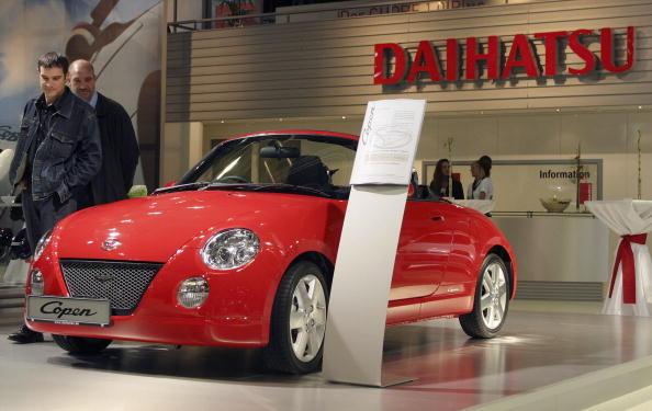 Corporate Business「Daihatsu Copen at the Frankfurt Auto Show」:写真・画像(7)[壁紙.com]
