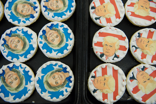 Presidential Election「Nation Goes To The Polls In Contentious Presidential Election Between Hillary Clinton And Donald Trump」:写真・画像(13)[壁紙.com]