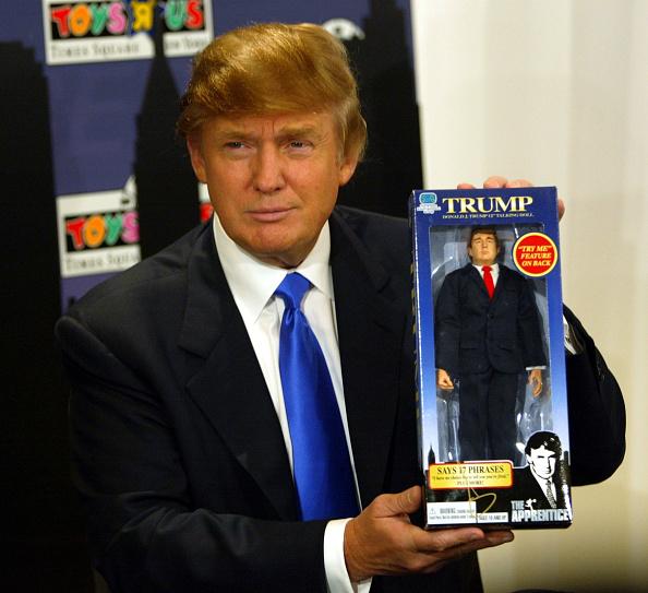 ビジネス「Donald Trump Unveils New Talking Doll」:写真・画像(17)[壁紙.com]