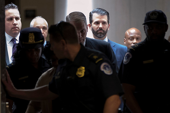 Hart Senate Office Building「Donald Trump Jr. Appears For Second Senate Intelligence Committee Interview Behind Closed Doors」:写真・画像(3)[壁紙.com]