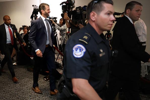 Hart Senate Office Building「Donald Trump Jr. Appears For Second Senate Intelligence Committee Interview Behind Closed Doors」:写真・画像(6)[壁紙.com]