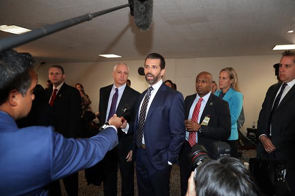 Hart Senate Office Building「Donald Trump Jr. Appears For Second Senate Intelligence Committee Interview Behind Closed Doors」:写真・画像(5)[壁紙.com]