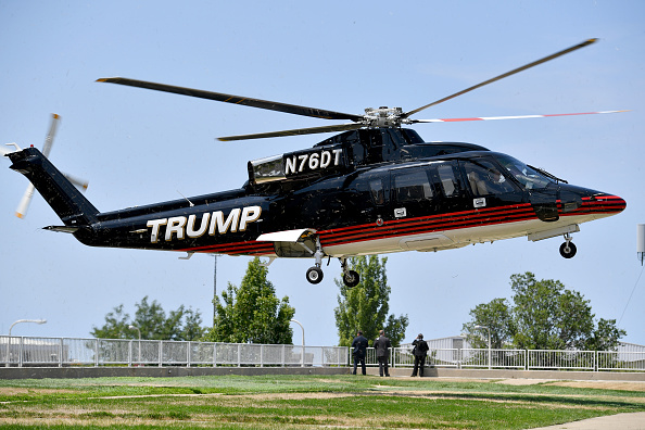 Helicopter「Trump And Pence Families Gather During Republican National Convention」:写真・画像(11)[壁紙.com]